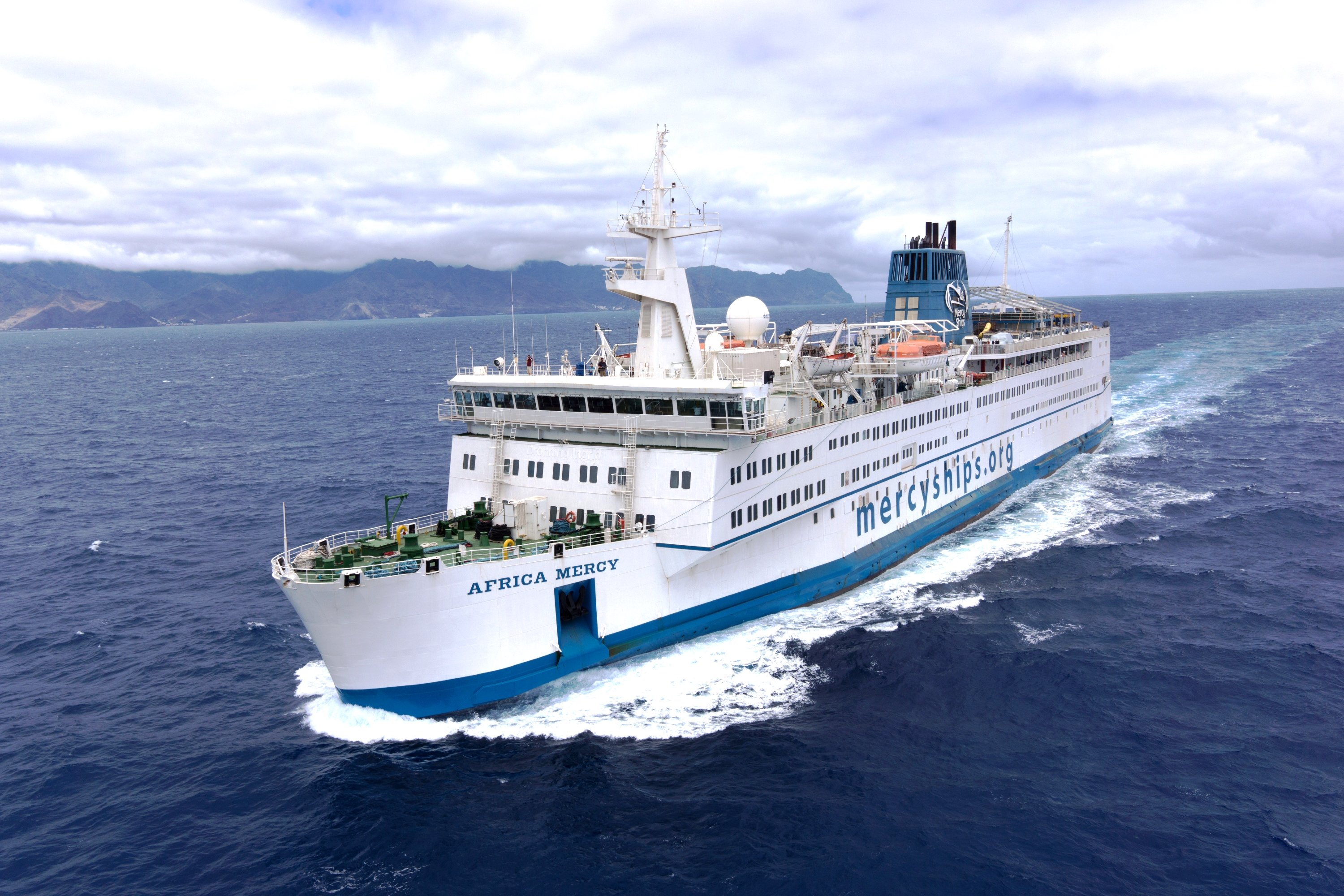 SpecTec to bring Mercy Ships up to speed with AMOS